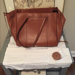 Rebecca Minkoff Always On Regan Tote Almond
